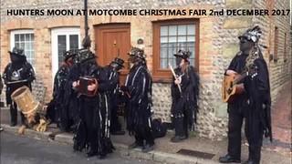 34  -  Hunters Moon dancing at Motcombe Christmas Fair on 2nd December 2017