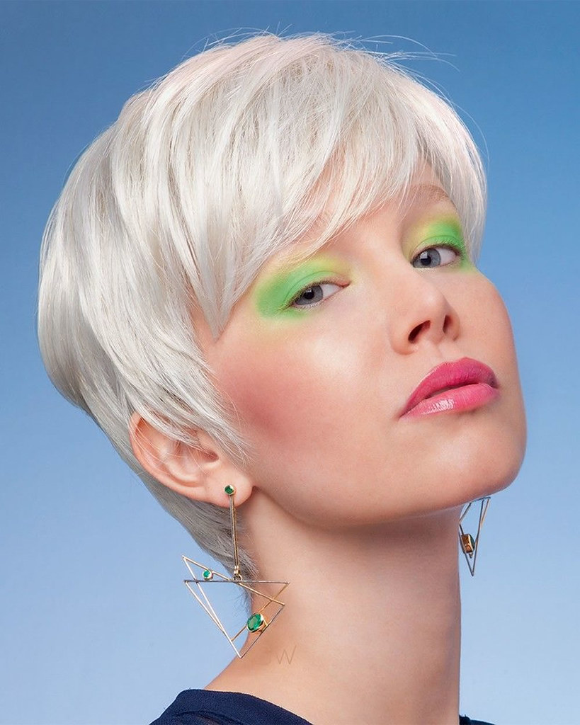 Ultra Short Hairstyles Pixie Haircuts Hair Color Ideas