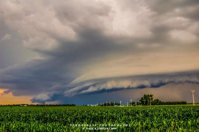 Ominous Nebraska Outflow 'Remastered'