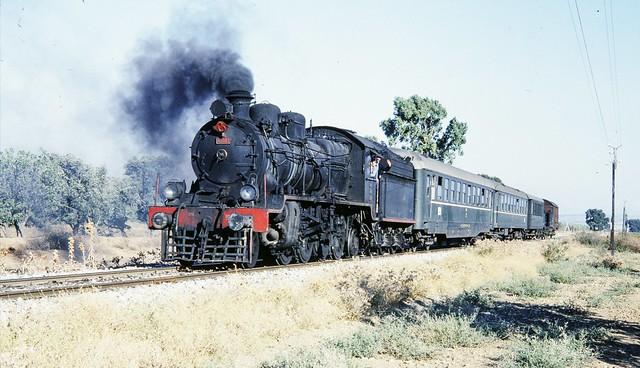 Turkey Railways - TCDD (ex-Ottoman Railway Company) 2-8-2 steam locomotive Nr. 46102 (Robert Stephenson Locomotive Works)