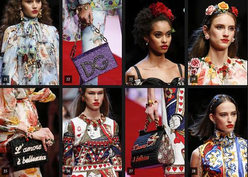 Dolce and Gabbana SS18 voguecom | by virginiaELB