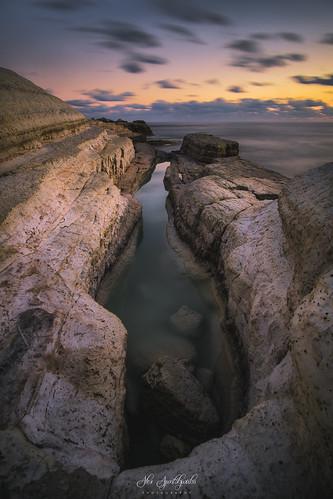 bulb landscapephotography longexposure sunset water clouds nature rocks sea seascape sky