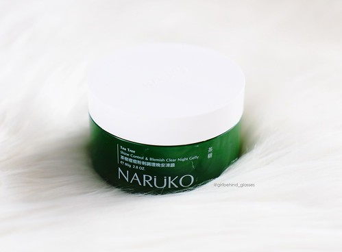 Naruko Tea Tree Shine Control & Blemish Clear Night Gelly2 | by <Nikki P.>