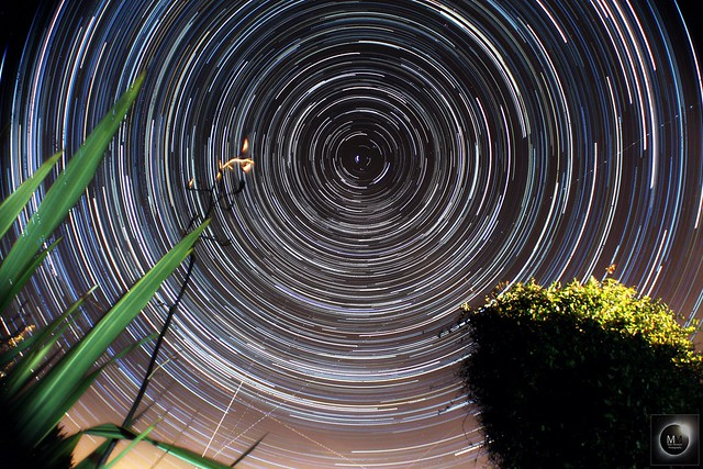 3 Hour 35 Minute Star Trails 12/02/17