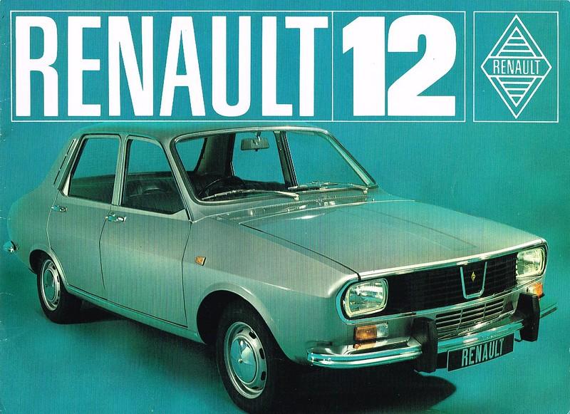Renault 12 brochure c.1970 01