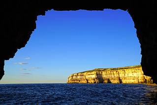 View from the cove, Gozo, Malta