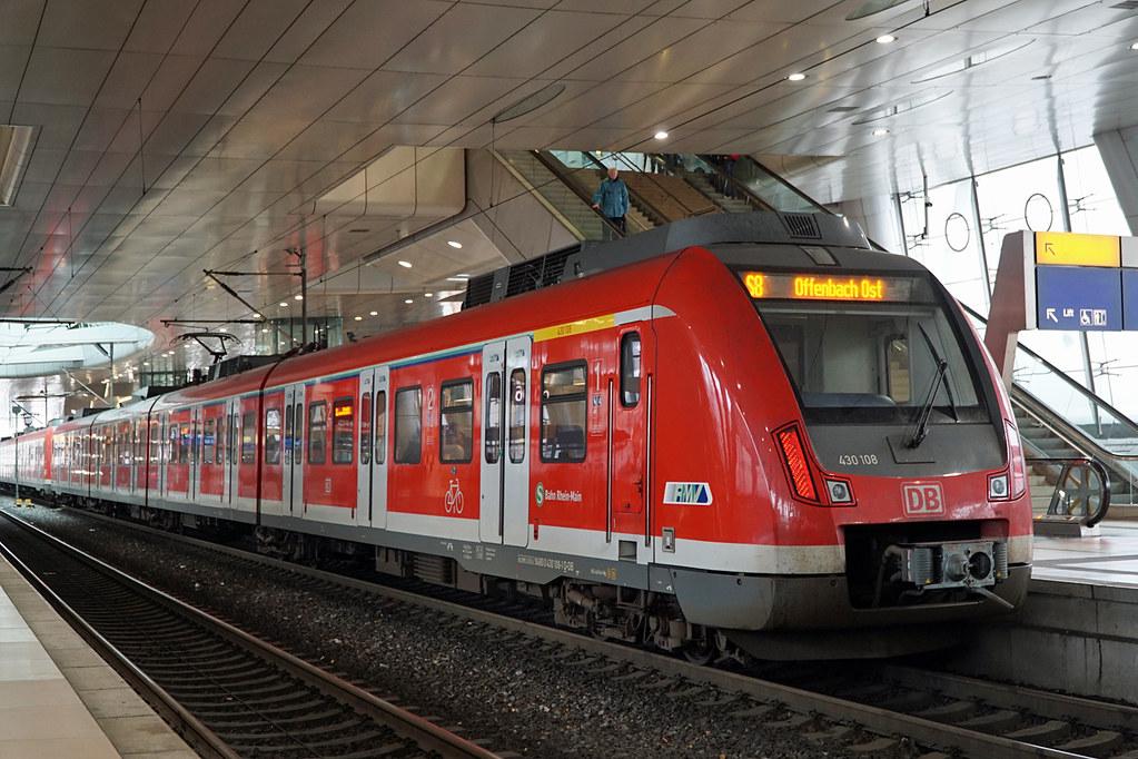 S Bahn Rhein Main