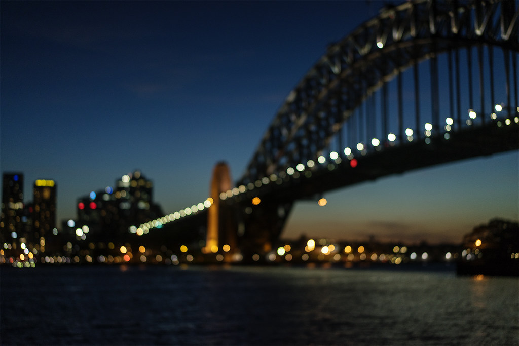 Sydney Harbour Bokeh