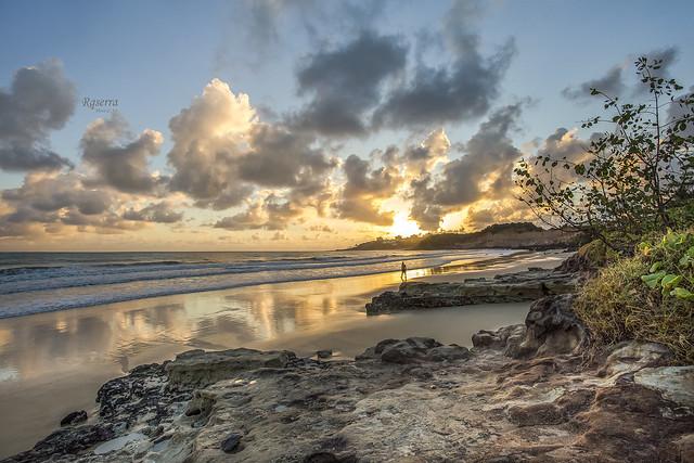 Sunrise in Camurupim Beach