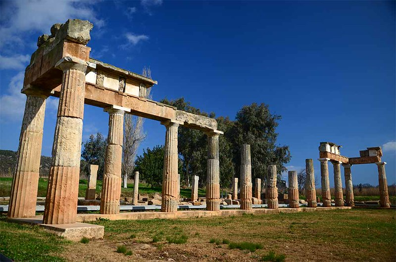 The sanctuary of Artemis at Brauron (1) - (Ancient Greek Sites Project)