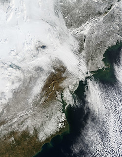 The East Coast under Snow | by NASA on The Commons