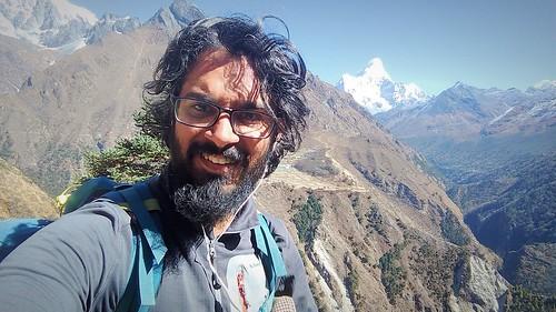 Selfie in high passes | by wanderingjatin