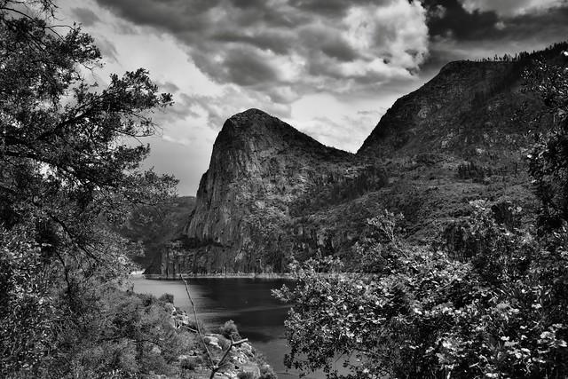 The Hetch Hetchy Valley (Black & White, Yosemite National Park)