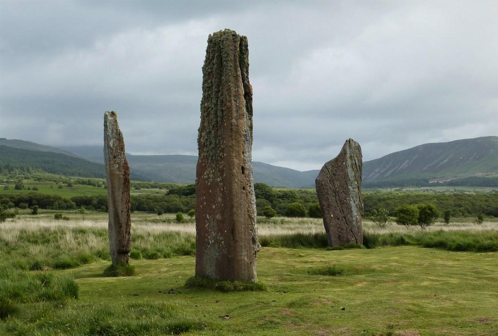 Standing stones , Machrie Moor