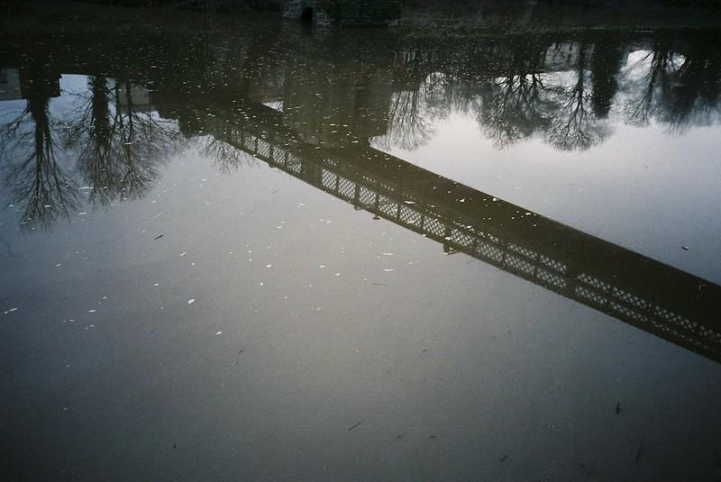 Vauxhall Bridge reflection