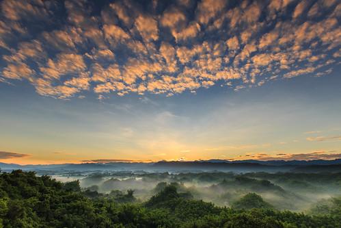longexposure sunrise 6d 雲海 台南市 二寮 ef1635mm 左鎮區