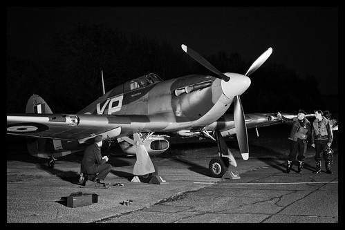 Hawker Hurricane IIb - 65 BW | by NickJ 1972