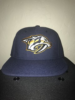 Nashville Predators Adidas Fitted | by Brett Swartz