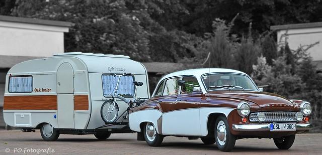 Wartburg 311 + QEK Junior caravan