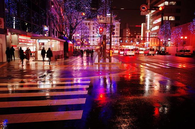 12月の雨