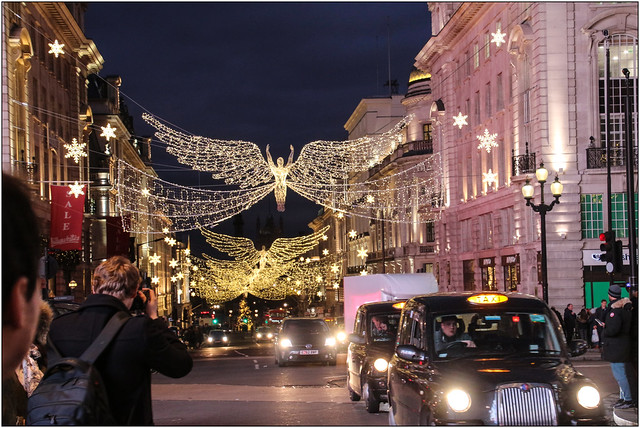 London Angels - Christmas Lights