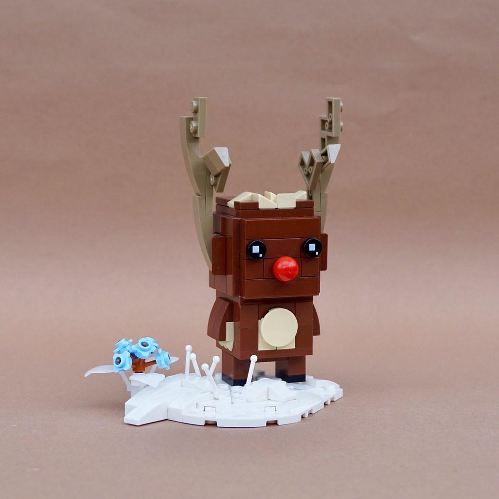 Rudolph the BrickHeadz Reindeer