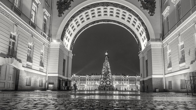 The arch of the General Staff, St. Petersburg