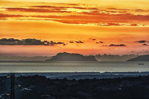 capri tirreno mediterraneo cilento isola tramonto sunset