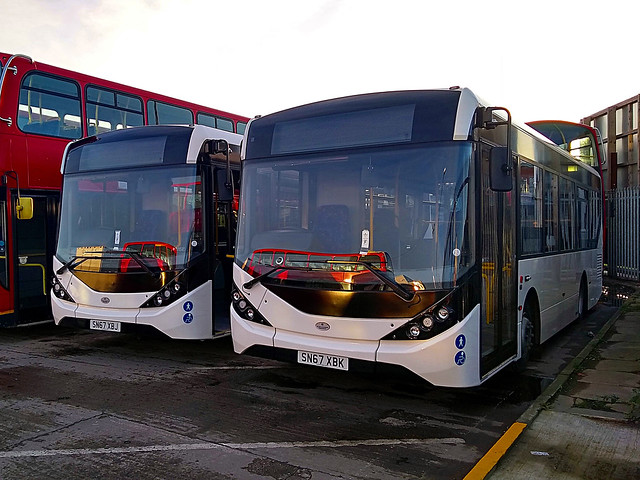 CT Plus Leeds [SN67 XBJ] & [SN67 XBK]