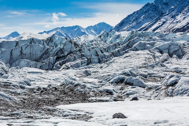 Terminus of Matanuska Glacier