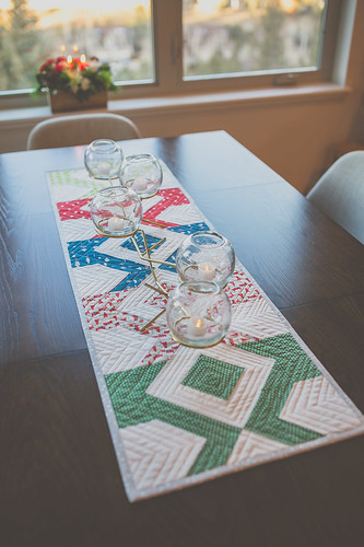Laguna Table Runner | by frommartawithlove