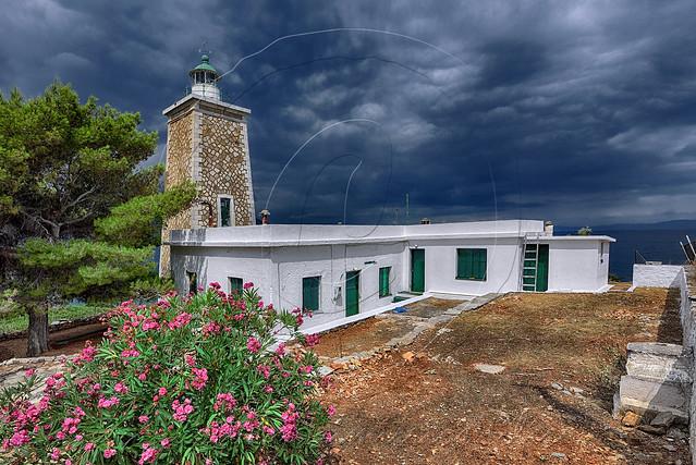 Συγκρότημα φάρου Γεροπλίνας Geroplina's lighthouse complex
