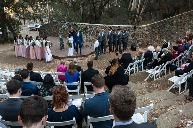 Wedding at Peter Strauss Ranch