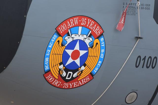USAF, Boeing KC-135R (58-0100), 351st ARS/100th ARW
