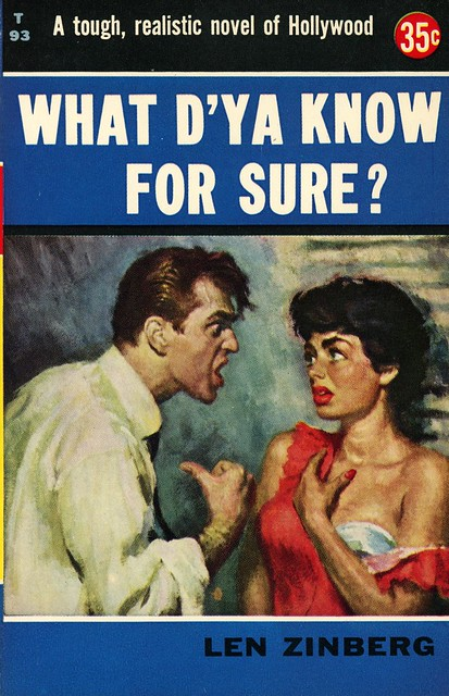 Avon Books T93 - Len Zinberg - What D'ya Know for Sure?