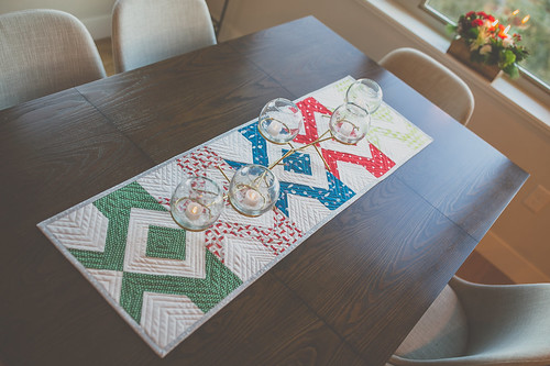Laguna Table Runner   by frommartawithlove