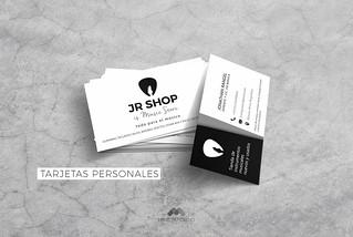 JR Shop Business Card