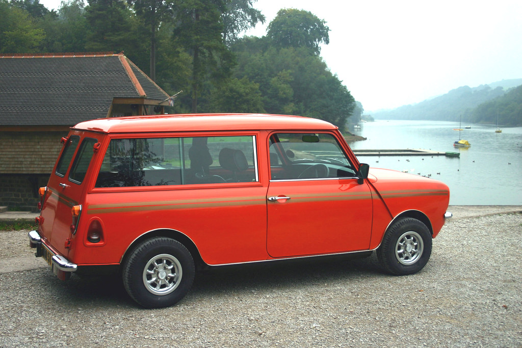 Visit To Rudyard Lake Classic Mini Clubman Estate Flickr