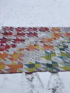 Modern Maples quilt