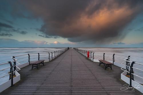 saltburn pier northyorkshire yorkshire england uk steveniceton longexposure leefilters
