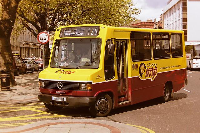 DUBLIN BUS/BUS ATHA CLIATH 755 93-D-8005