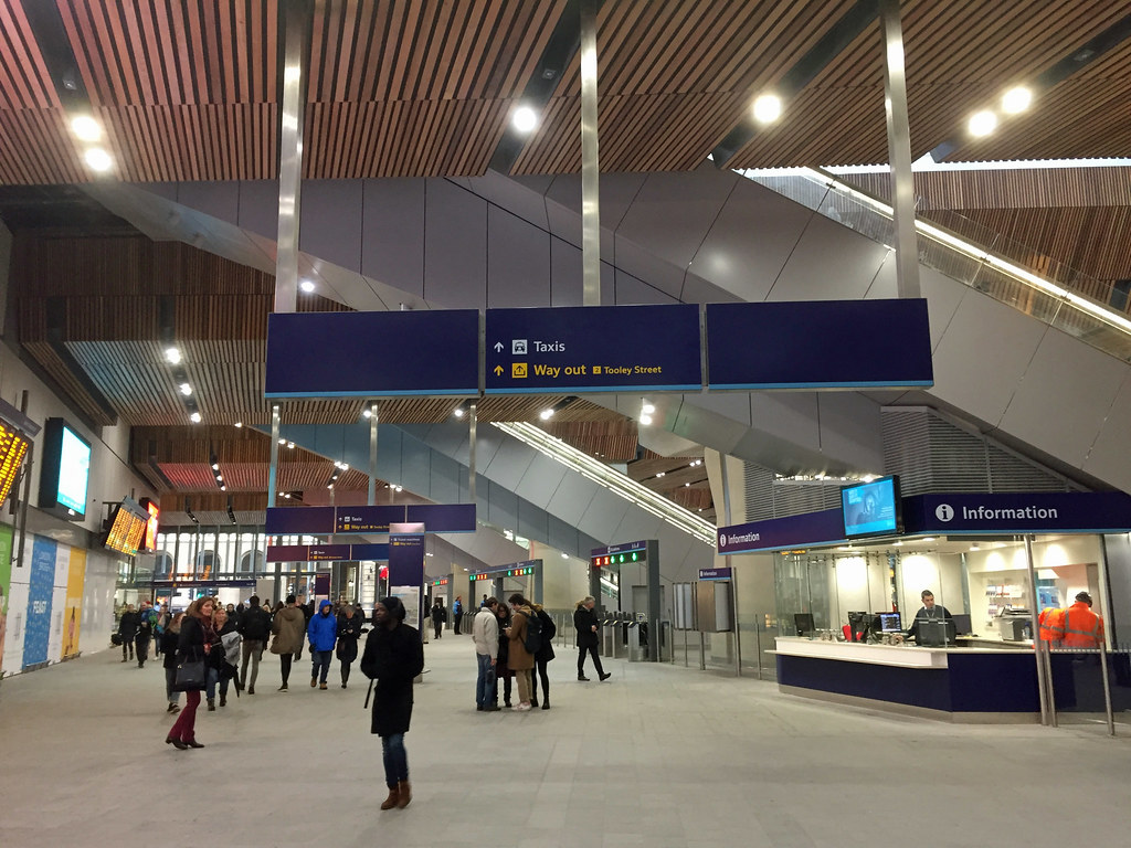 London Bridge station ...