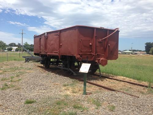 gippslandplainsrailtrail railtrail abandoned cowwarr cowwarrrailwaystation wagon railwagon history