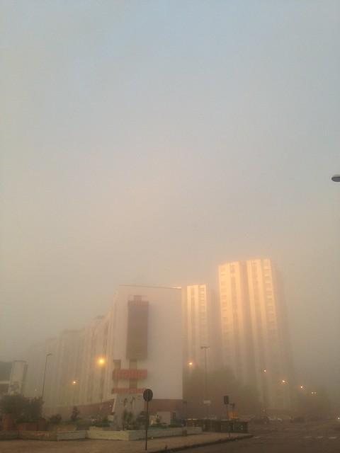 Taranto: rarissimo Foggy Day
