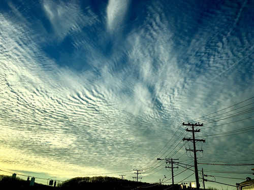 cockeysville maryland clouds cloudscape wires magichour patterns cmwd topf25