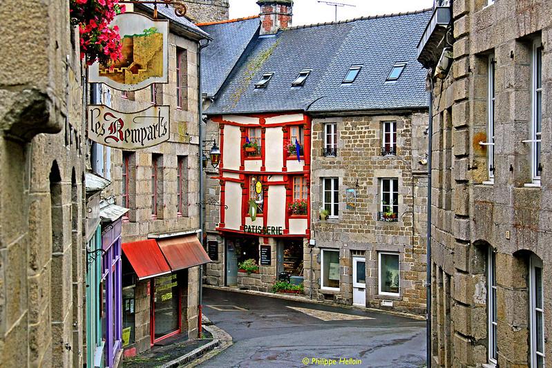rue de Moncontour © Bretagne