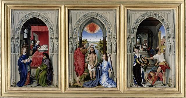 Rogier van der Weyden, Johannesaltar - John the Baptist Altar (ca. 1455)