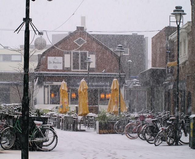 Winter in Hilversum