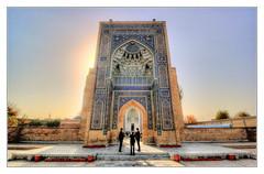 Samarqand UZ -  Gur-e-Amir Mausoleum 16