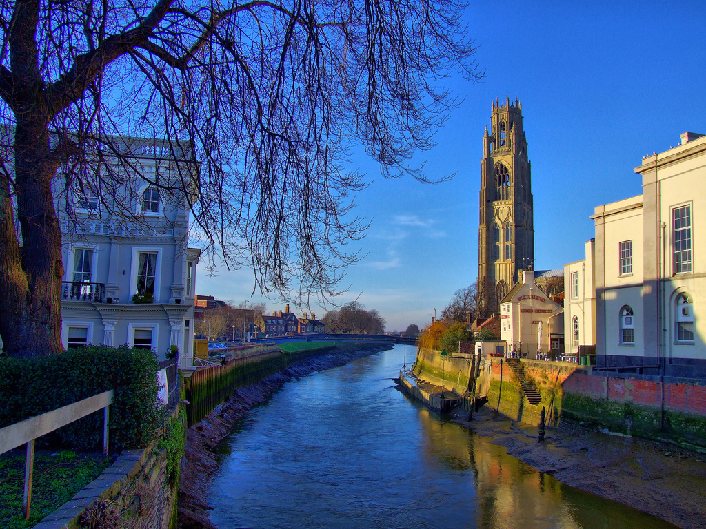 Lincolnshire BOSTON St Botolph (Boston Stump)